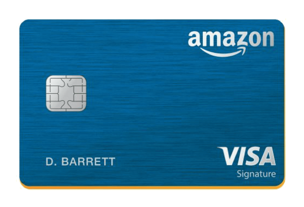 Amazon Rewards Visa Signature Card Managed by Tally.