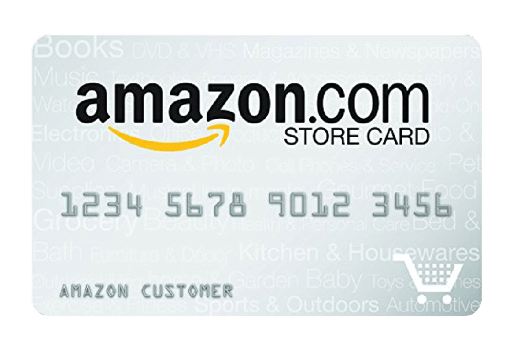 Amazon Prime Store Card Managed by Tally.