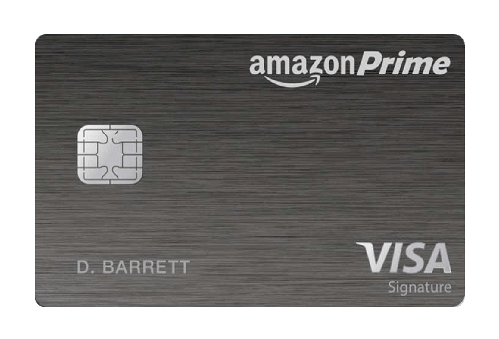 Amazon Prime Rewards Visa Signature Card Managed by Tally.