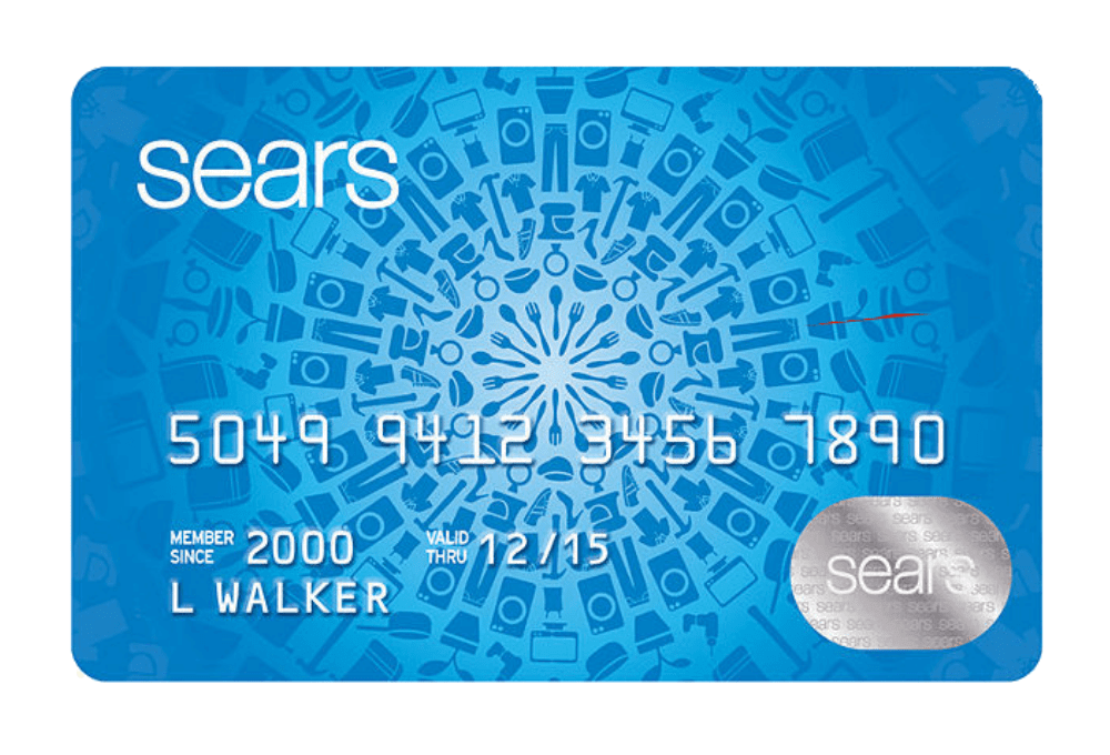 Sears Credit Card Managed by Tally.