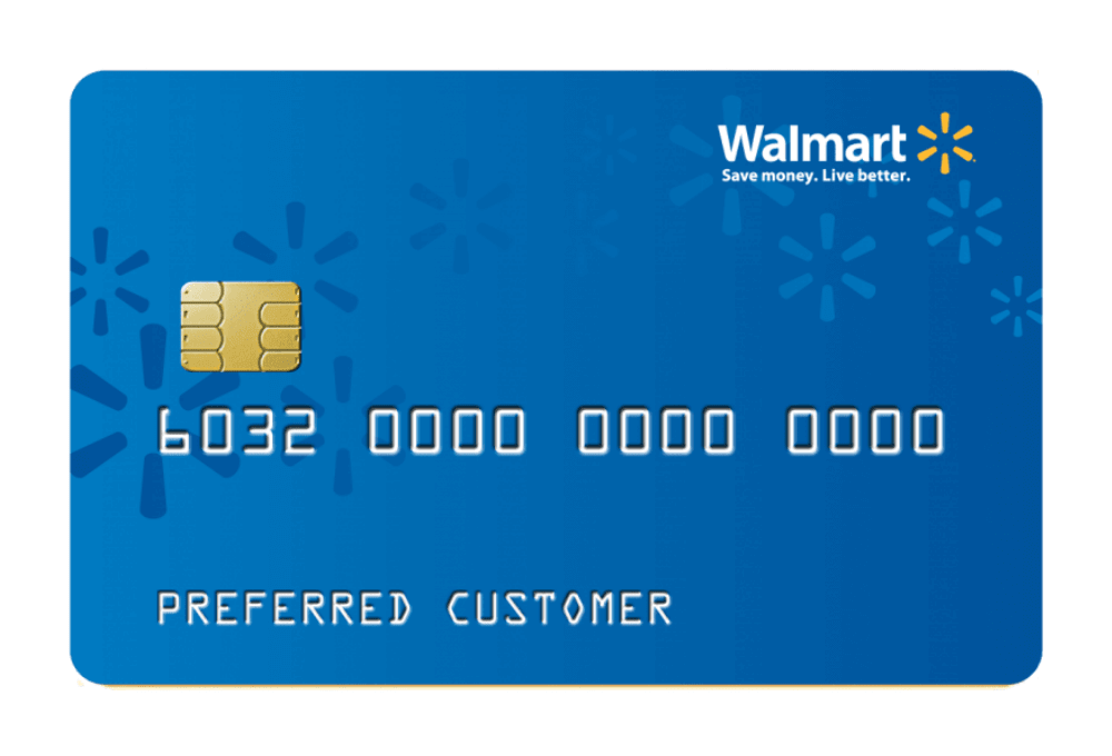 Walmart Credit Card Managed by Tally.