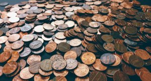 credit score boost pile of pennies