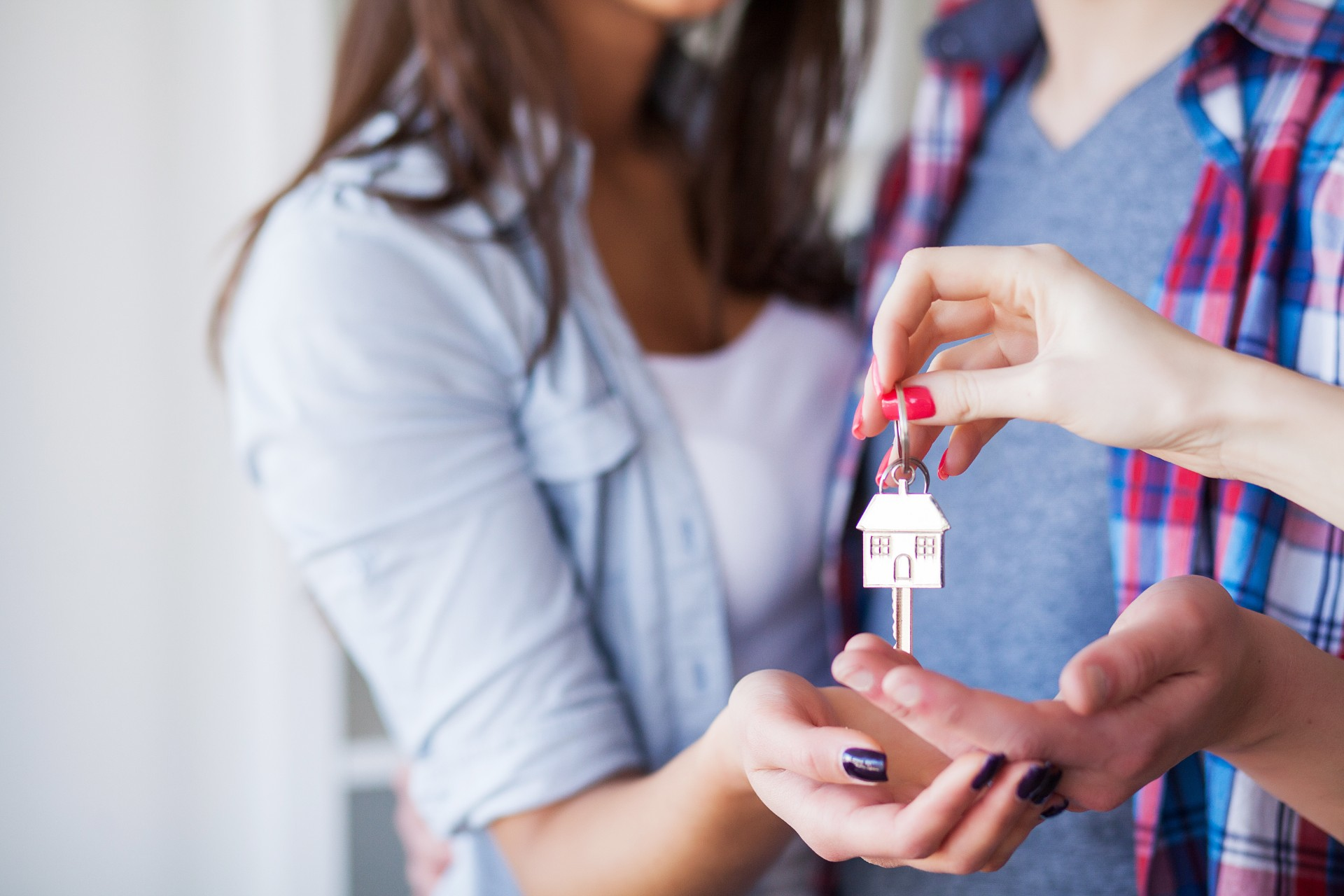 What Credit Score Is Needed to Buy a House: Close-up of a house key