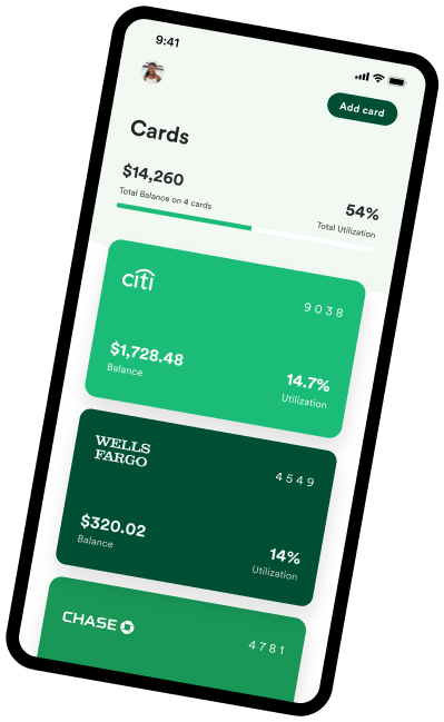 All your credit cards in one place with Tally