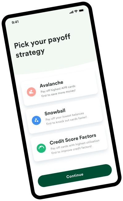 Tally help you set your credit card debt payoff strategy